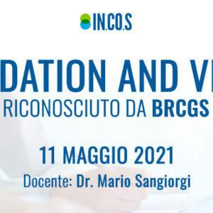 Corso Validation and Verification riconosciuto da BRCGS