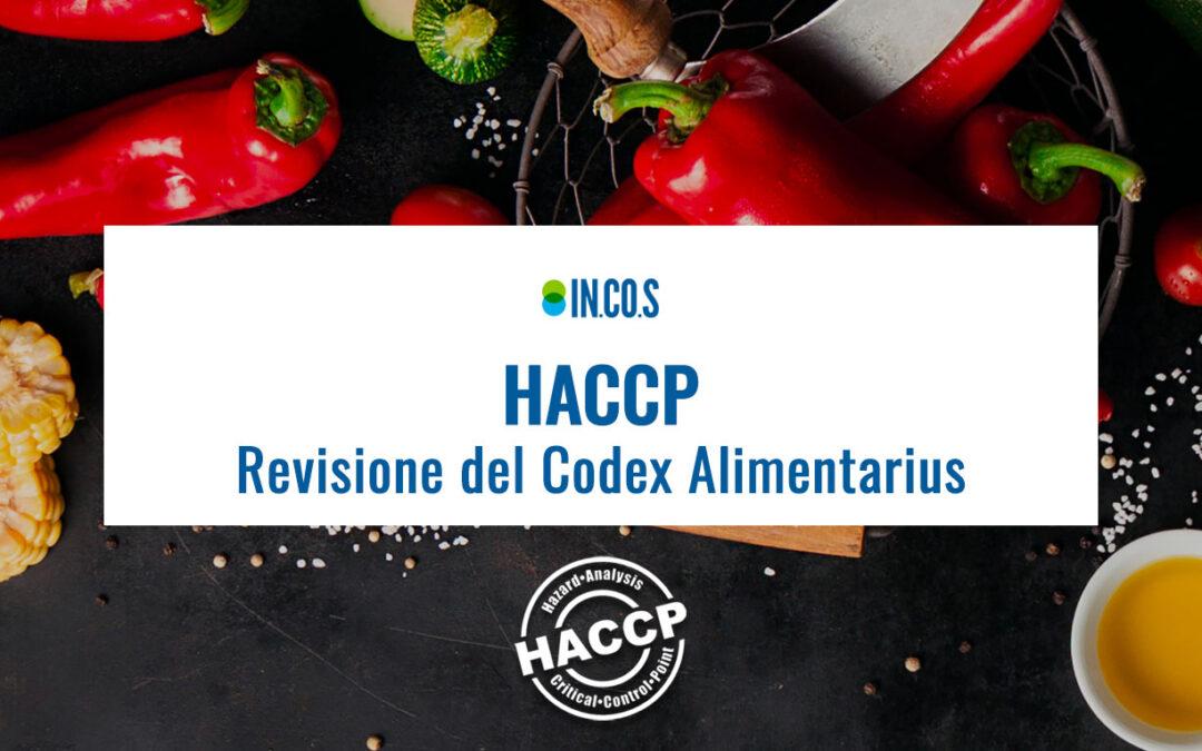 HACCP: Revisione del Codex Alimentarius
