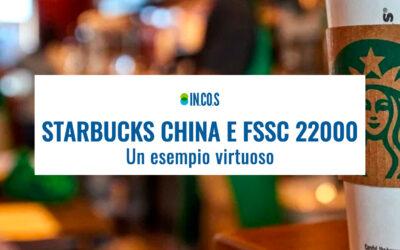 FSSC 22000 versione 5 e Starbucks China: la prima grande catena di vendita al dettaglio certificata.