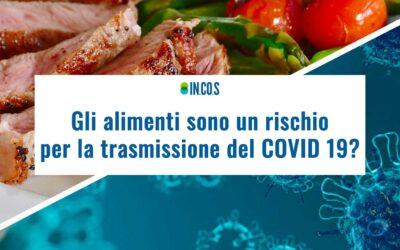 Gli alimenti sono un rischio per la trasmissione del Covid 19?